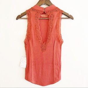 Free People NEW | Dale tank paprika small